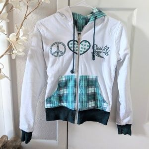 Women's reversible O'Neill hoodie size small